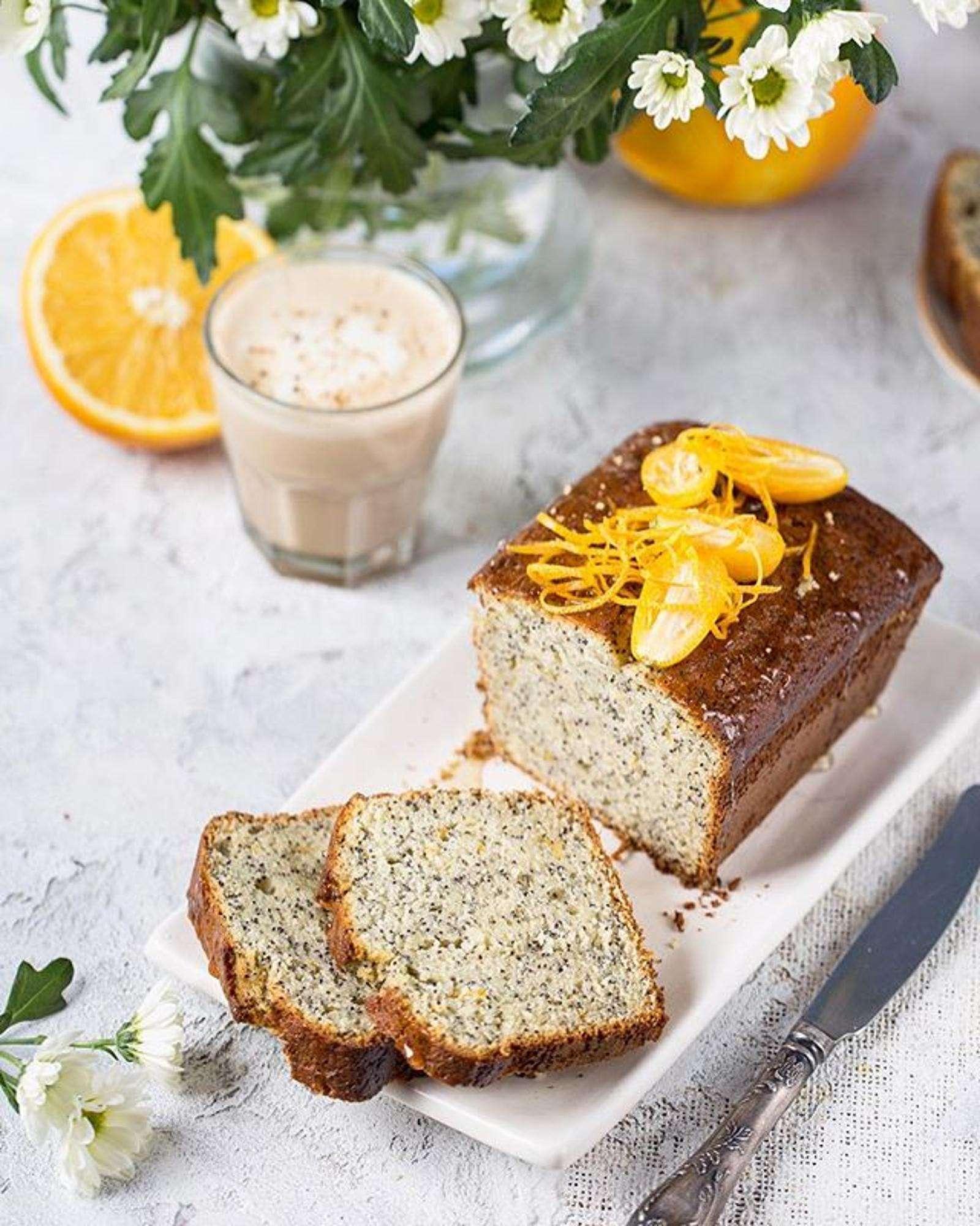 Нежный и ароматный: балуем семью маково-апельсиновым кексом