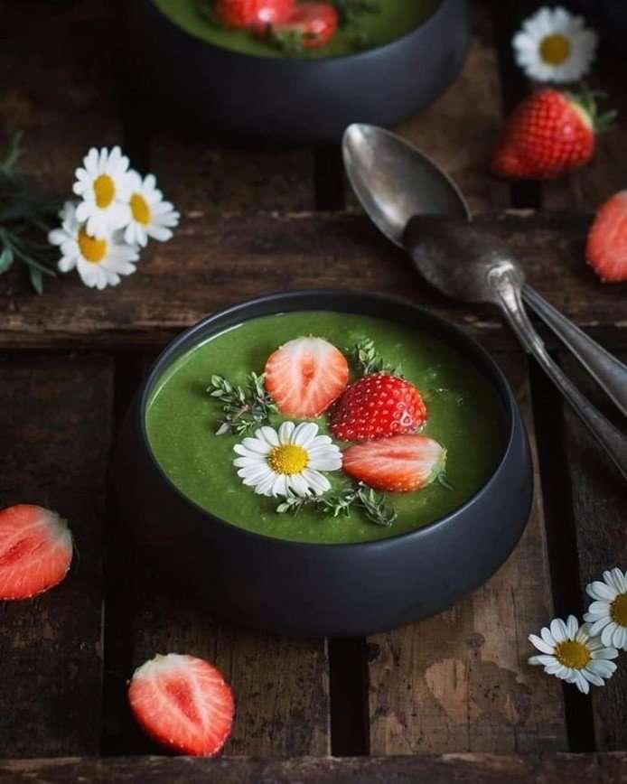 К обеду: готовим легкий зеленый суп от Анжелики Зоркиной