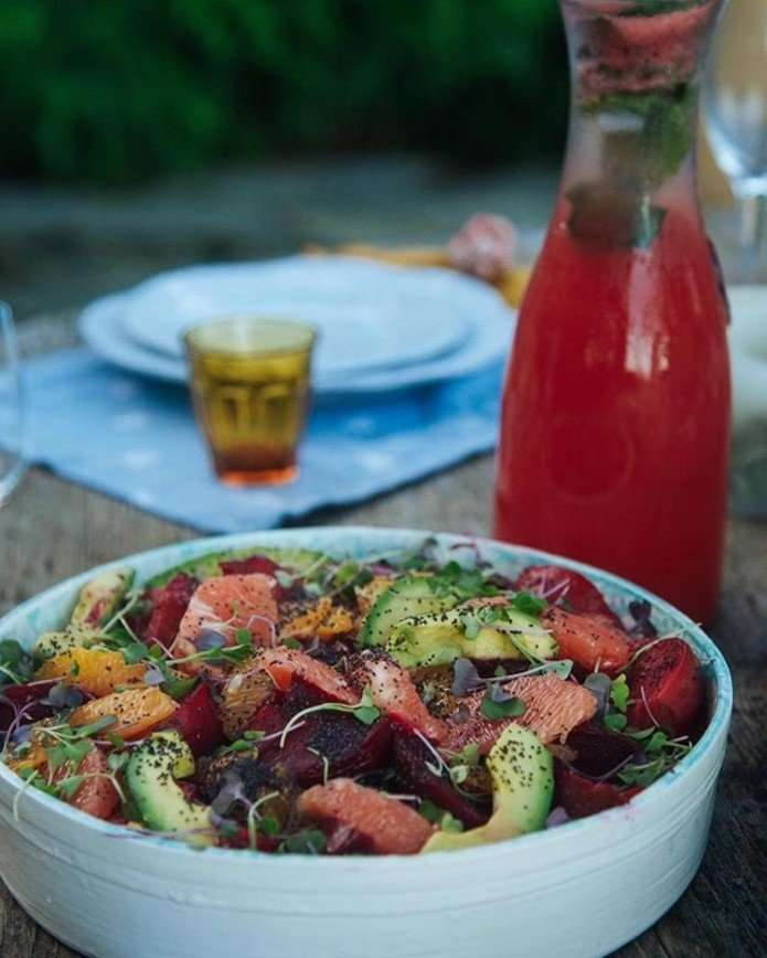 Витаминная бомба: простой и полезный салат от Марии Кравцовой