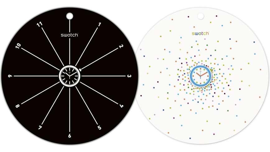 Часы, которые трансформируются из наручных в настенные