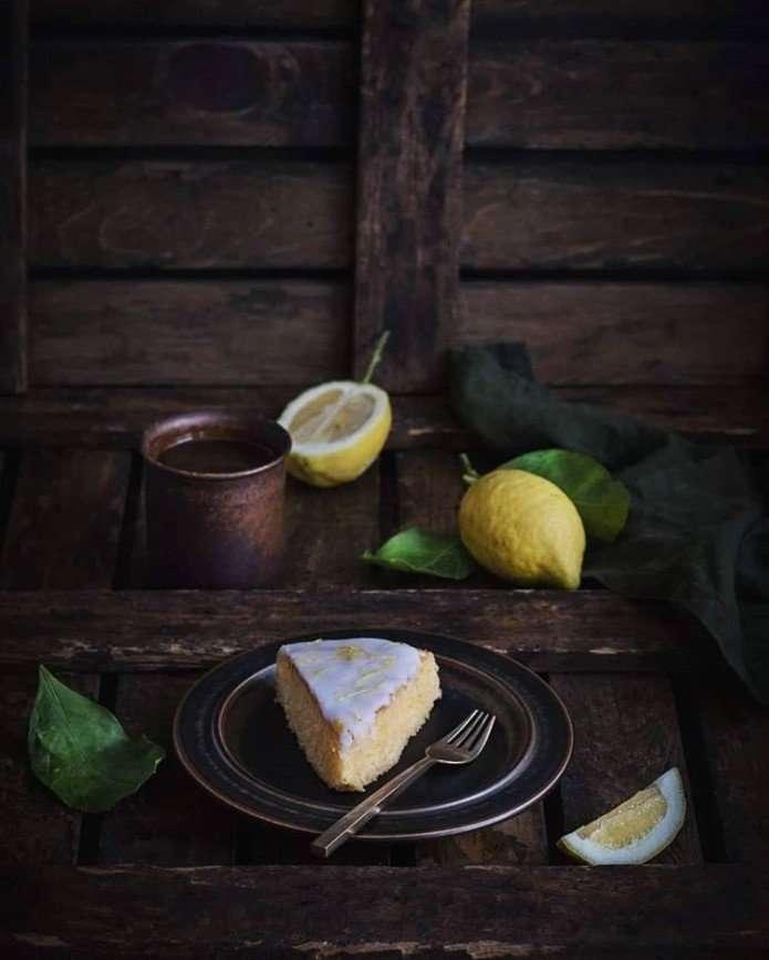 Лимонная выпечка: ароматный пирог от Анжелики Зоркиной