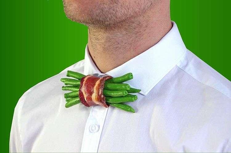 Для мужчин с чувством юмора: необычные галстуки-бабочки в подарок