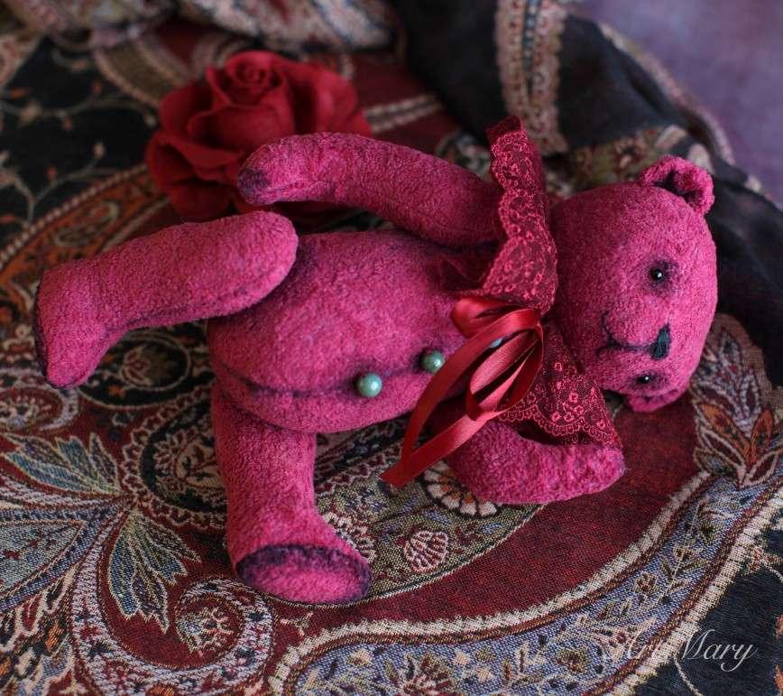 Авторский мишка Cabernet