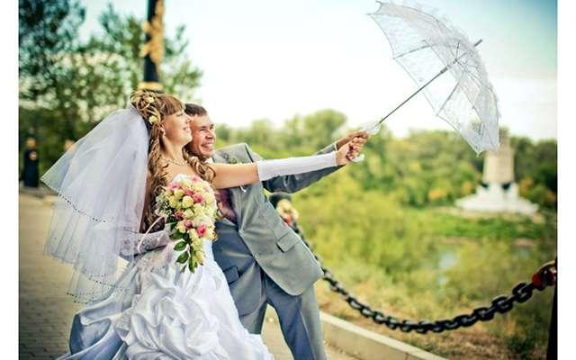 Из фотозала. Свадьба