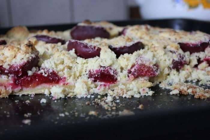 А вы пробовали польский пирог со сливами?