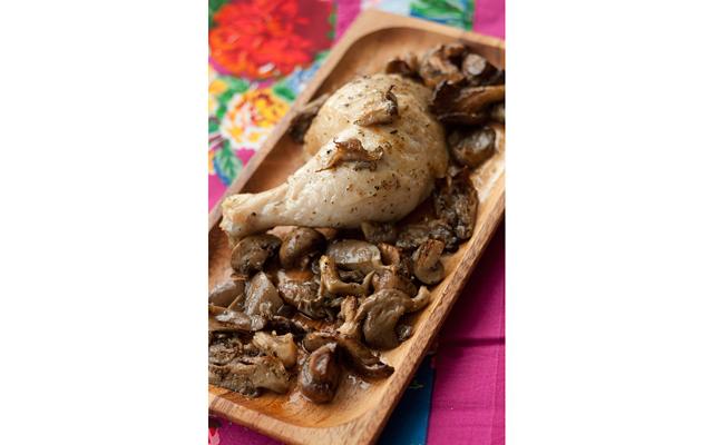 Курица с грибами от Юлии Высоцкой