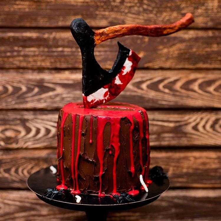Мастерство и фантазия: как кондитеры украшают торты на Хэллоуин