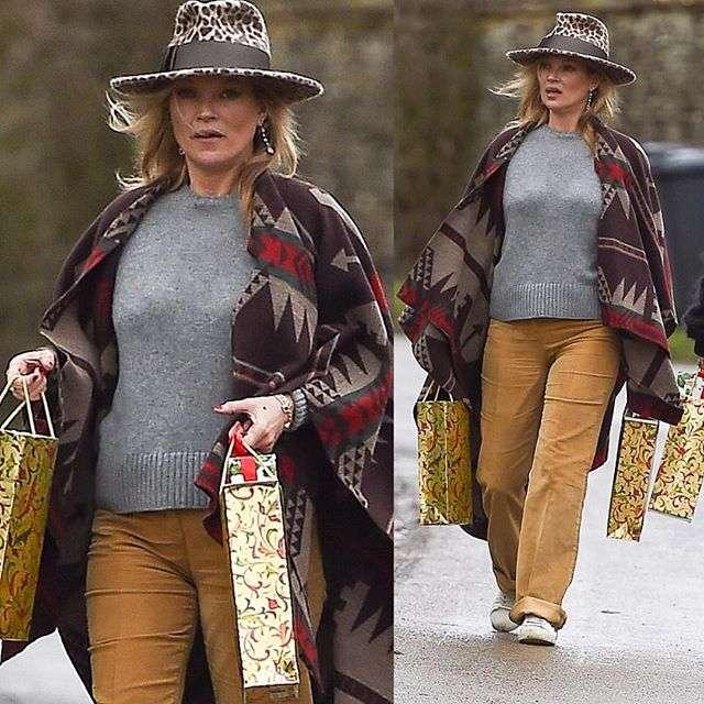 «Баба Катя с пакетами»: модель мирового уровня Кейт Мосс сочли одетой не по статусу