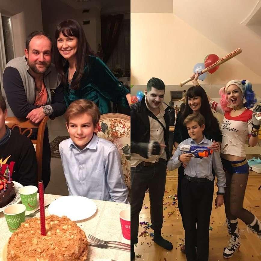 «Взрослый мальчик»: Нонна Гришаева весело отметила день рождения сына