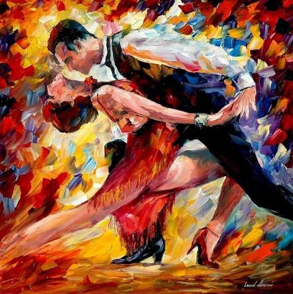 Танго - танец страсти!