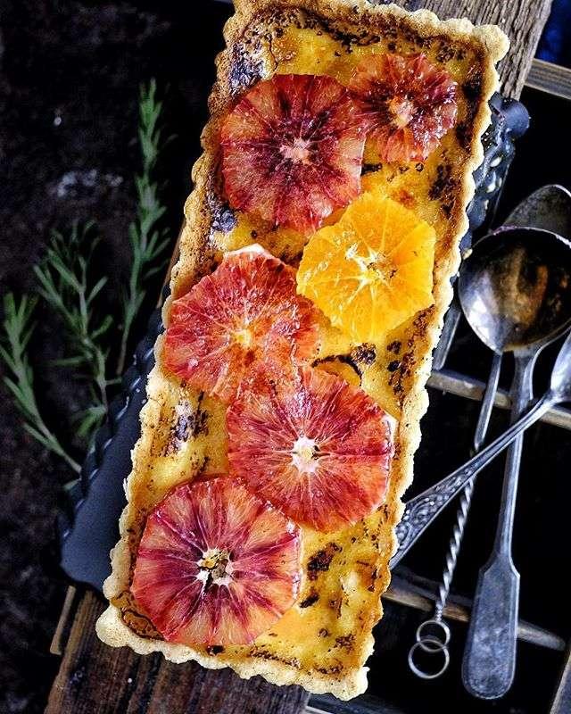 Сезонная выпечка: рецепты пирогов с красными апельсинами