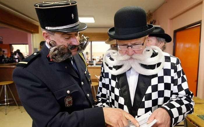 Усы и борода - главное мужское достоинство