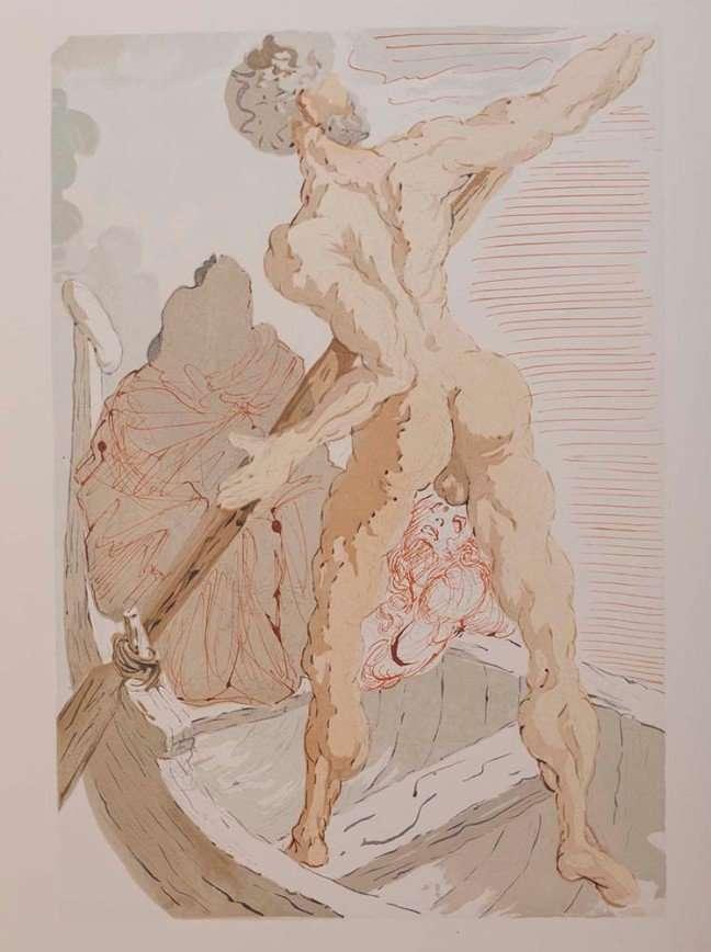 Сто ксилографий Сальвадора Дали по мотивам «Божественной комедии» Данте Алигьери покажут на выставке в Москве
