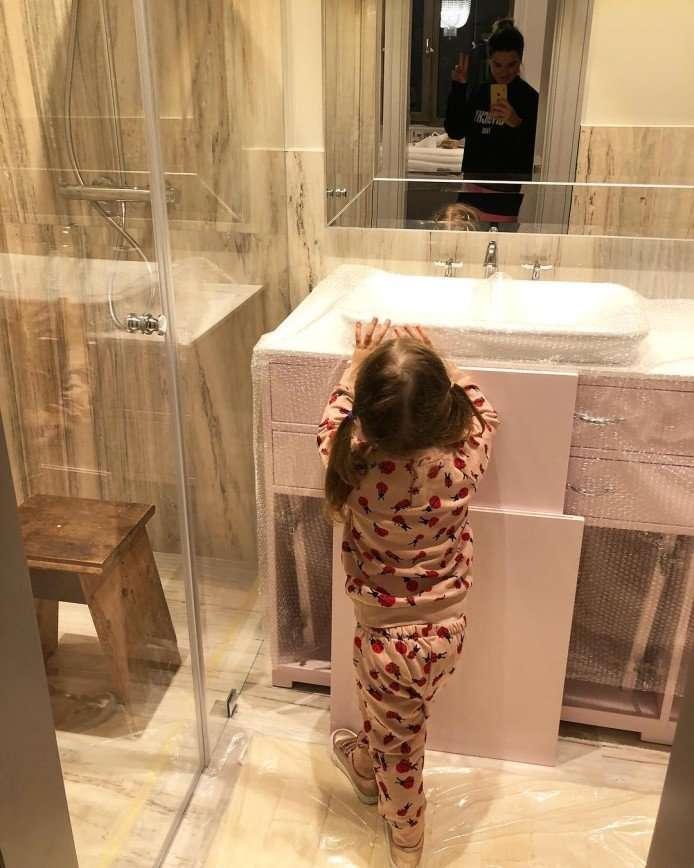 Ксения Бородина не рада обилию мрамора в своем доме