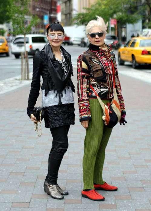 Стильные старушки в современном мире