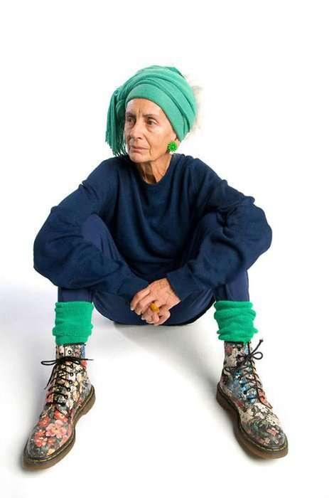 Стильные старушки, несущие в мир позитив и красоту! Часть2