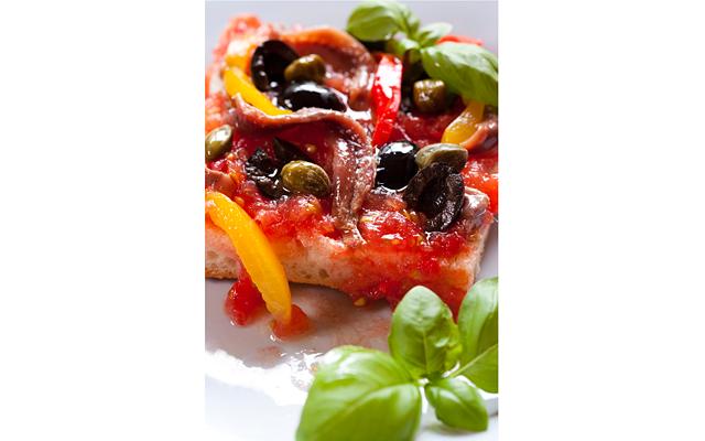 Тосканский салат «Панцанелла»