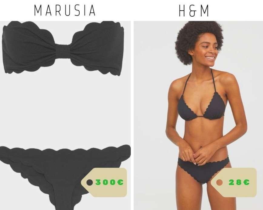 Не переплачивай: самые модные купальники по низкой цене, не уступающие брендовым двойникам