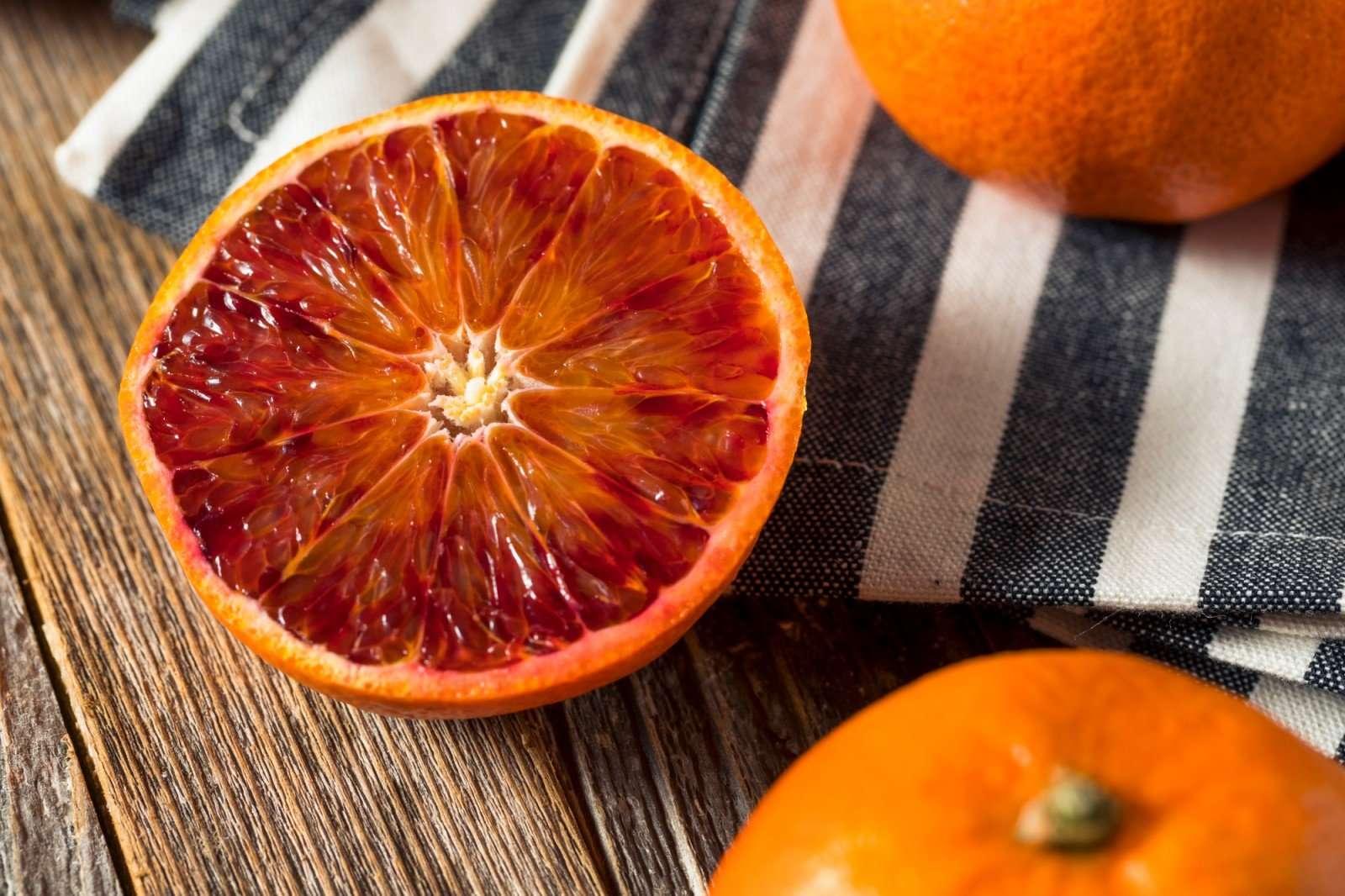 Харизматичный (и вкусный!) кекс с красными апельсинами