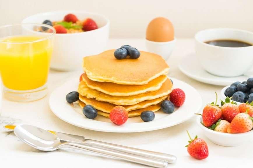 Лучший завтрак: вкусные панкейки на кефире