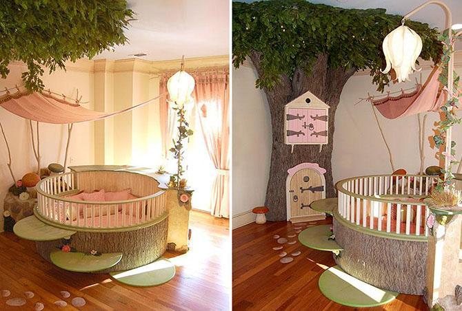 Необычный дизайн детских комнат